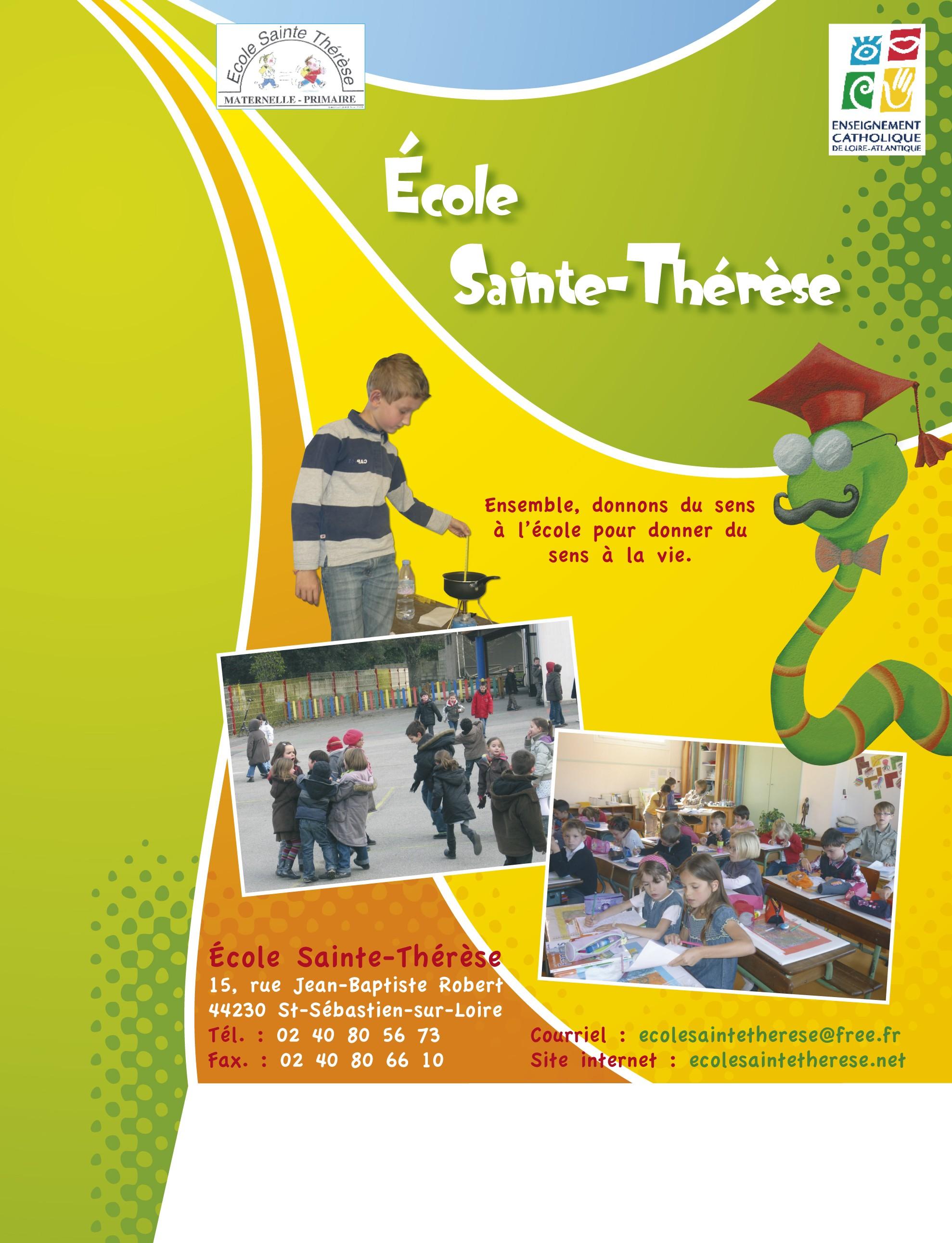 Plaquette presentation ecole maternelle